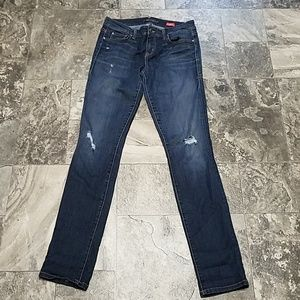 Anthro Level 99 Lily Skinny Straight Jeans 29